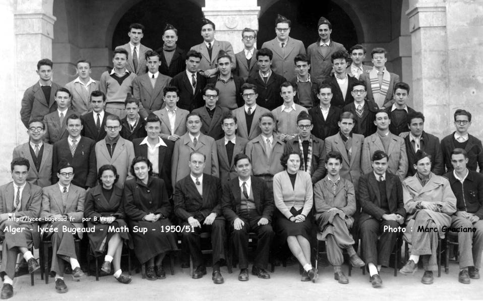 classe de Math Sup, 1950-1951, Professeur : Mr Durupt